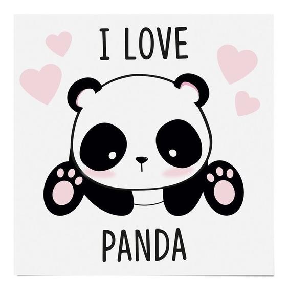 Cartela Papel Transfer P/camiseta Panda 13x13cm