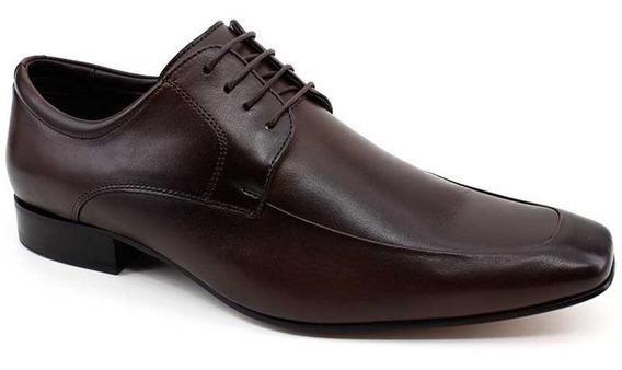 Sapato Masculino Jotape Manhattan Couro Pelica 40094 Pixolé