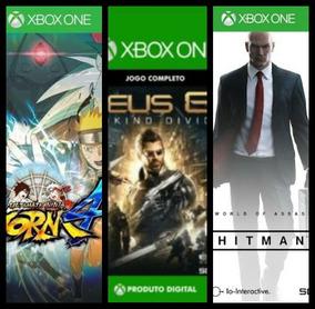 Games Xbox One/x Deus Ex+hitman Completo+naruto Storm 4