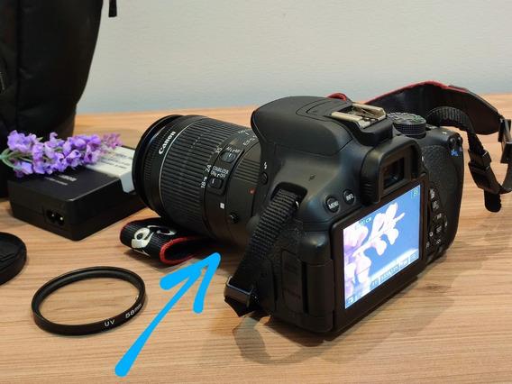 Câmera Digital Canon Eos Rebel T5i E Acessórios