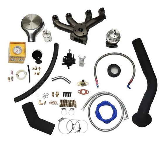 Kit Turbo Ap Carburado Pulsativo No Farol S/ Turbina