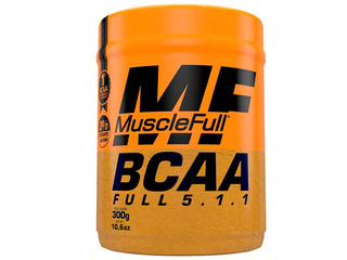 Bcaa 5.1.1 300g Muscle Full - Sabores - Com Nf-e