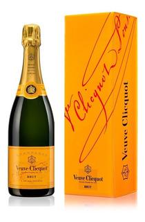 Champagne Veuve Cliquot Brut Yellow Label Con Estuche