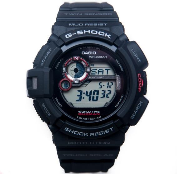 Relógio G Shock G 9300 Mudman Bussola Solar G-93001d Origina