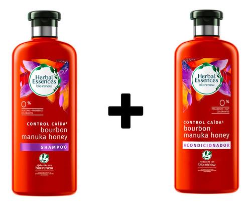 Combo Shampoo Y Acondicionador Herbal Essences Bío:renew Man