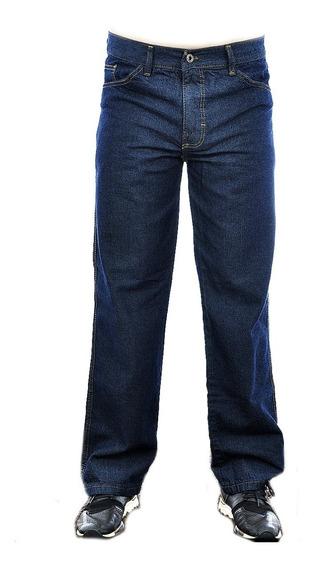 Calça Jeans Uniforme Masculina Tradicional Básica Atacado
