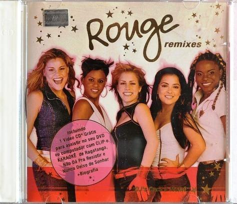 Cd + Vcd: Rouge: Remixes Dj´s Cuca E Memê - 2002