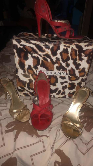 Zapatos N 36 Sarkany,marra Y Prune