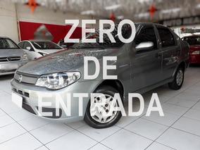 Fiat Siena Completo (-) Ar Condicionado 1.0 / Zero Entrada