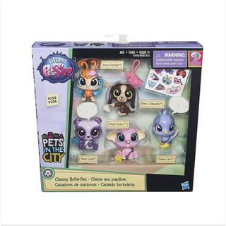 Littlest Pet Shop Mascotas Cazadores De Mariposas Hasbro Ful