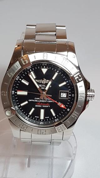 Relógio Breitling Super Avenger 2 Gmt Otimo Estado