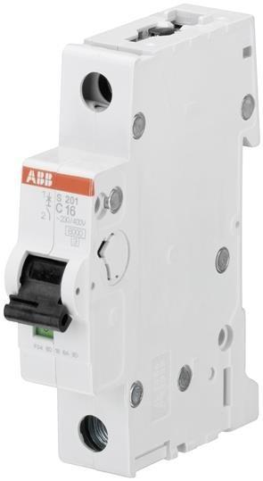 Abb 2cds251001r0164 Mini Interruptor S201-c16 Amps