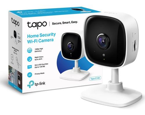 Camara Ip Wi Fi Tp Link Tapo C100 Hd 1080p + Vision Nocturna