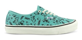 Tenis Vans Og Authentic Lx Peanuts Snoopy The Gang Vault