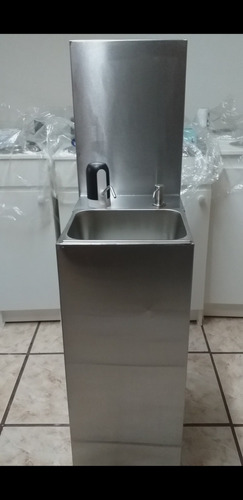 Lavamanos/lavabo Portátil Acero Inoxidable+bomba Gratis $180