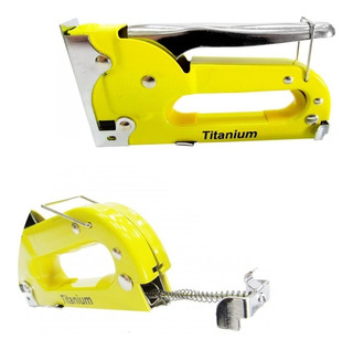 Grampeador Manual Para Grampos 4 A 8mm 5066 Titanium