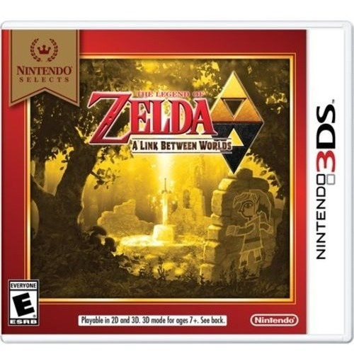The Legend Of Zelda - A Link Between Worlds - 3ds! Lacrado!