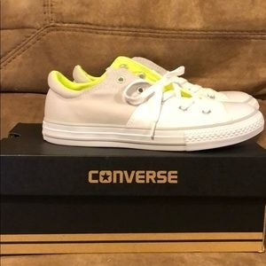 Converse Chuck Taylor Allstar Madison Ox White Mouse 653370c