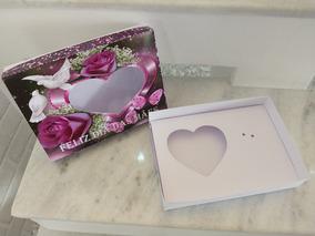 10 Caixa Embalagem Ovo De Coração Dia Das Mães