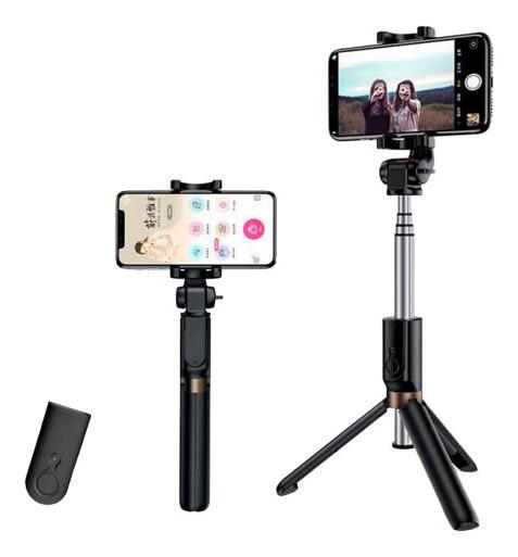 Bastão Suporte Tripe De Selfie Celular Controle Remoto