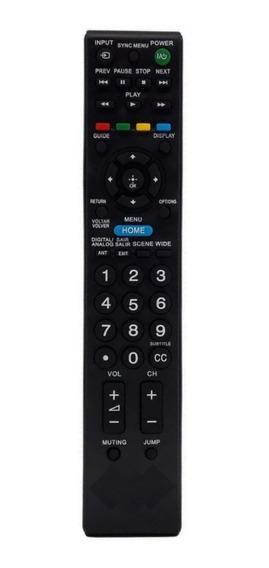 Controle Remoto Tv Sony Rm-yd081 Rm-yd066 Kdl-32bx325 Bx355