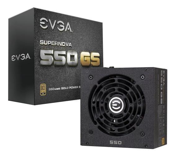 Fuente Pc Gamer Evga Gd 550w 80 Plus Gold Gd Nueva En Caja