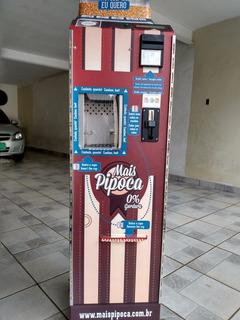 Máquina De Pipoca + Máquina De Cartão Vend Pago