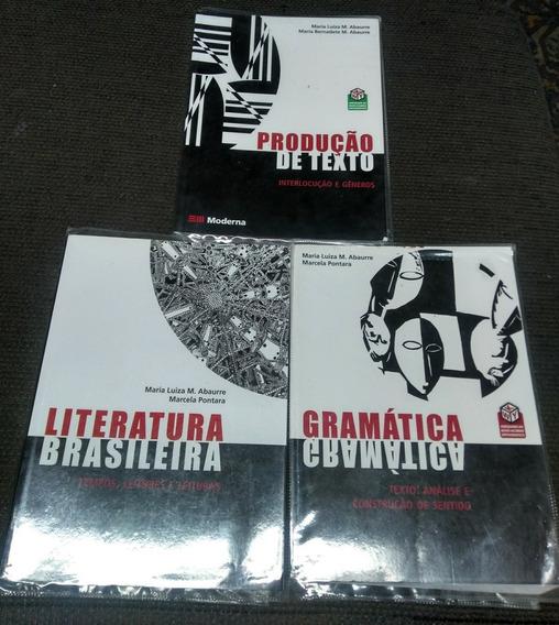 Literatura, Produção De Texto E Gramática Editora Moderna