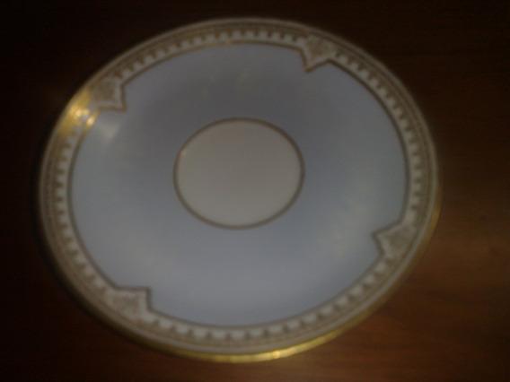 Platito/plato De Te Porcelana Limoges France Conf. Del Gas