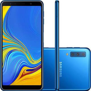 Samsung Galaxy A7 A750g 128gb Ram 4gb Ram Azul Vitrine 1