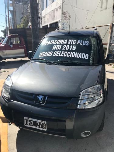 Peugeot Partner Patagonica Vtc Plus 1.6 Nafta Ohx