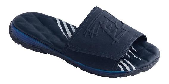 Chinelo Tigor T. Tigre Slide Menino Azul