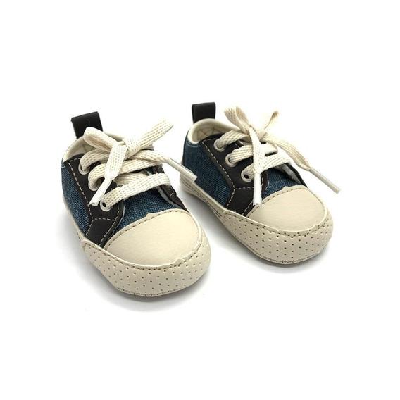 Tenis Infantil Menino Cadarço Casual Dia A Dia Confortável