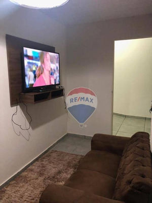 Casa Com 1 Dormitório Para Alugar Por R$ 1.200/mês - Jardim Ubirajara - Cuiabá/mt - Ca0768