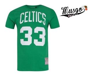 Camisa Esporte Basquete Boston Celtics Larry Bird 33