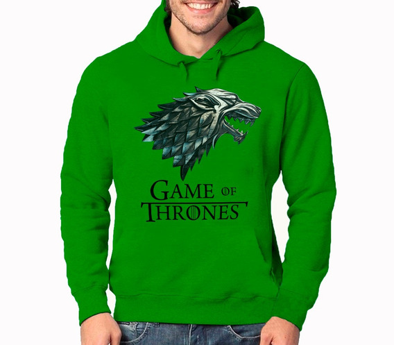Moletom Game Of Thrones Lobo Blusa De Frio Casaco