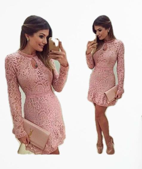 Vestidos Elegantes Ideal Para Fiestas En Encajes Torchon