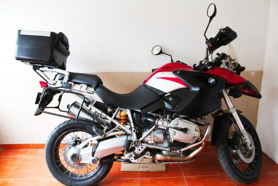Moto Bmw R 1200 Gs Color Rojo