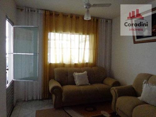 Imagem 1 de 11 de Casa Com 2 Dormitórios À Venda, 134 M² Por R$ 300.000 - Jardim São Jorge - Nova Odessa/sp - Ca0521