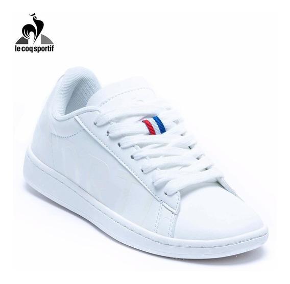 Zapatillas Urbanas Courset Logo Blancas Le Coq Sportif