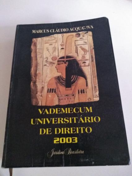 Vademecum Universitário De Direito 2003