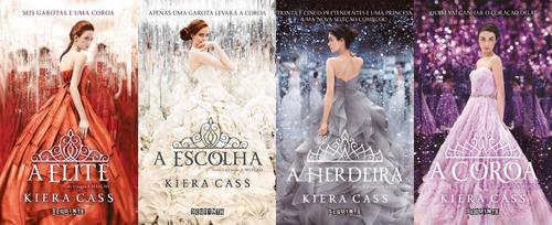 Série A Seleção Livros A Elite A Escolha A Herdeira A Coroa