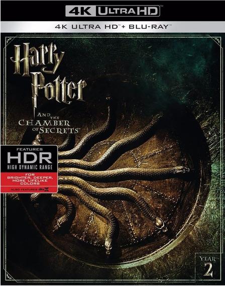Harry Potter Y La Camara Secreta Año 2 Pelicula 4k Ultra Hd