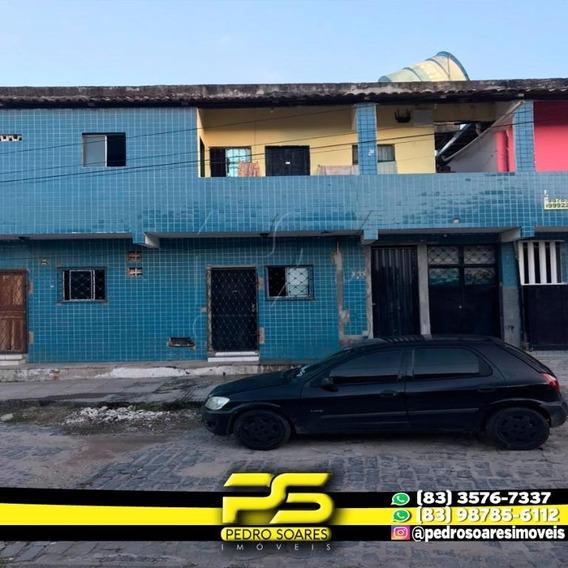 Kitnet Com 2 Dormitórios Para Alugar, 50 M² Por R$ 350/mês - Mandacaru - João Pessoa/pb - Kn0006