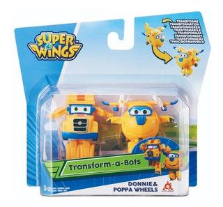 Super Wings Figura Transformable 5 Cm