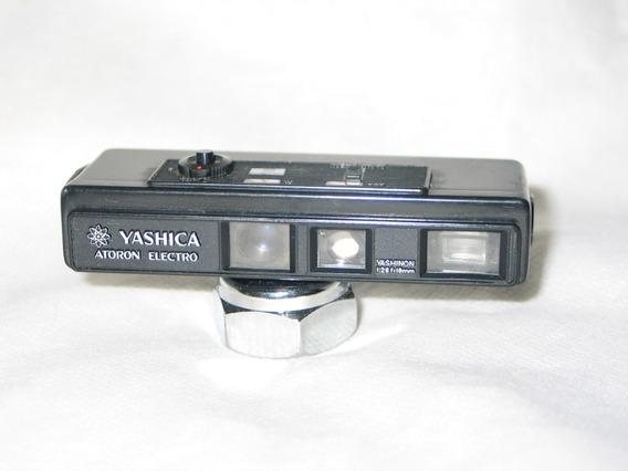 Câmera Yashica Atoron Electro Black Rara Antiga -kodak-agfa-