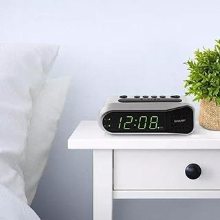 Reloj De Alarma Sharp Digital Nítido: La Alarma Ascendente