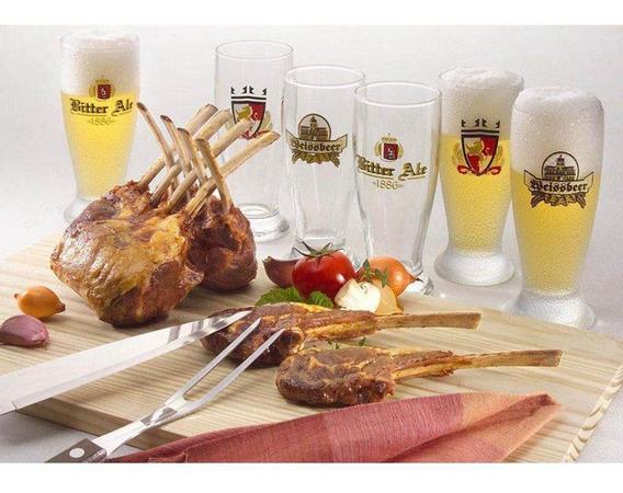 Conjunto Kit Para Churrasco 9 Peças Gourmet Para Presente