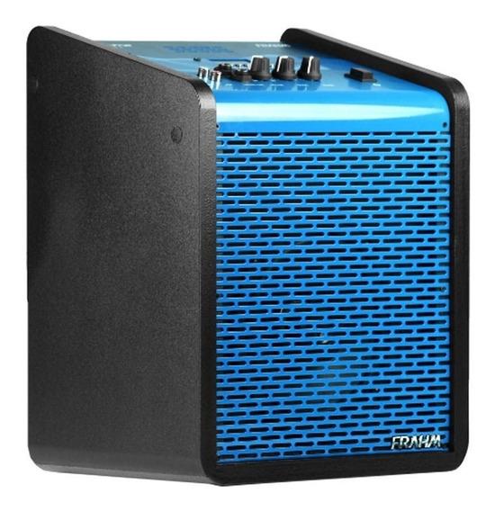 Caixa Amplificada Multi-uso Blue 100w 6 Polegadas Frahm