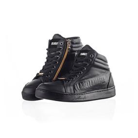Tenis Feminino Sneaker Labellamafia Leather Black Lbm102204